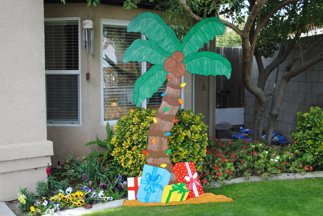 Tropical christmas r b yard art and holiday decorations for Christmas decoration websites